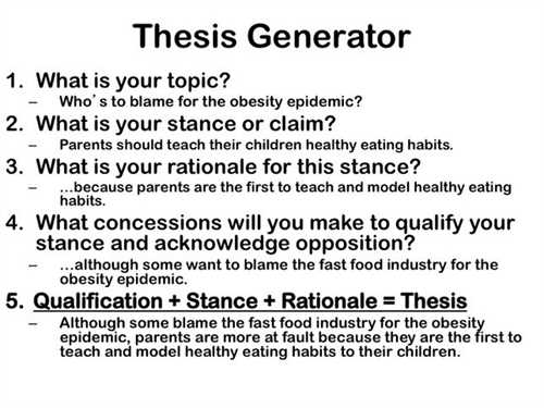 How To Write A Good Thesis For A Research Paper